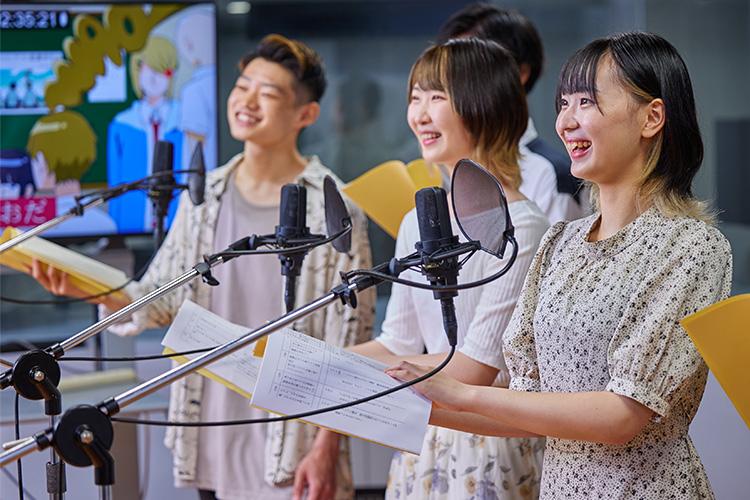 アニメ声優に興味のある方はグループ校の放送声優科もチェック!