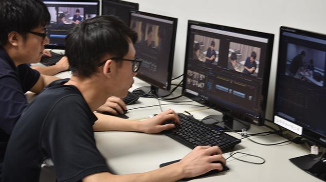 映像編集ソフト「Premiere」を使って1本の作品を完成させます