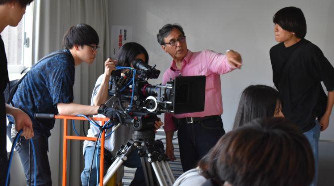 映画業界で活躍する講師から技術とセンスを学ぶ