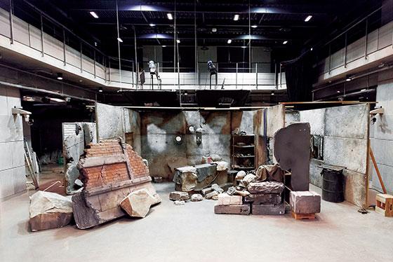スタジオセット 廃墟