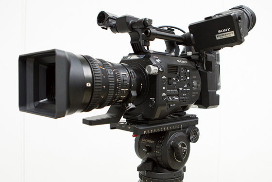 4Kデジタルビデオカメラ SONY PXW-FS7 Ⅱ