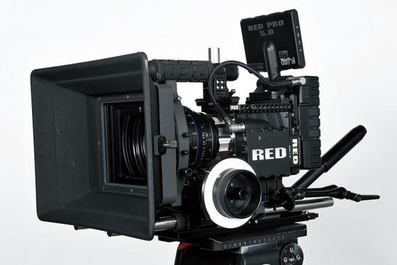 4Kデジタルカメラ RED