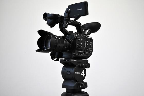 4KデジタルビデオカメラSONY PXW-FS5