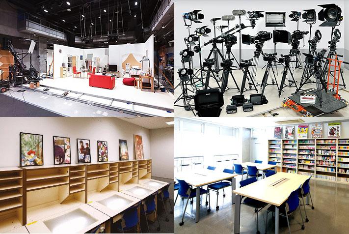 EQUIPMENT 東放学園映画専門学校 機材・施設
