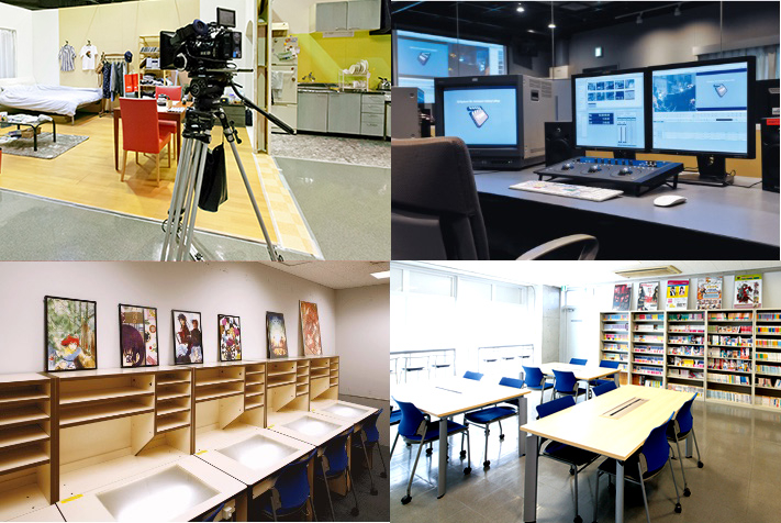 EQUIPMENT 東放学園映画専門学校 機材・設備
