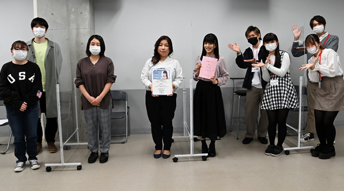 「アクション」「パントマイム」「日本舞踊」など多彩な選択科目