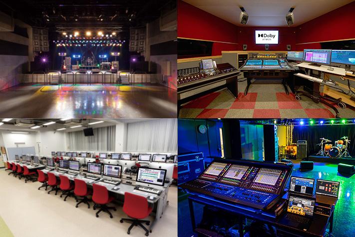 EQUIPMENT 東放学園音響専門学校 機材・施設