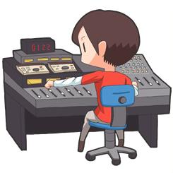 ラジオミキサー