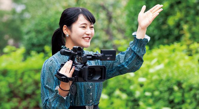 ビデオカメラの撮影スキルももちろん習得