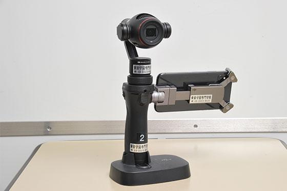360度パノラマ撮影対応カメラ