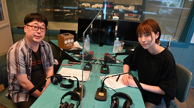 声優&お笑い芸人と模擬ラジオ番組を制作