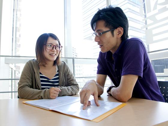 就職・デビューアドバイザーが校舎に常駐。いつでも相談できます!