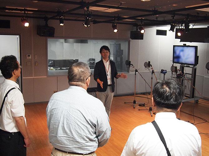 2018年7月 専門学校東京アナウンス学院にて開催